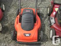 1 craftsman self propelled 100$ 2 black &decker