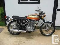 Looking for an early to mid 70's Honda CB350, CB450 or