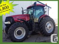 Puma 180 2007 Case IH Puma 180, Row Crop Tractors,