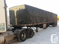 2008 Lode King Flatbed trailer 48� X 102�, sliding