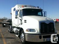 "2012 Mack Pinnacle, 70"" Midroof, 233"" w/b. thirteen"