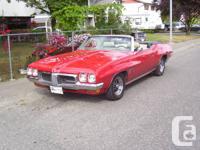 1970 Pontiac LeMans Sport convertable. 108000 miles