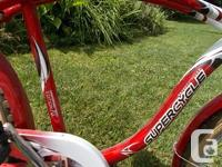 Supercycle 70th anniversary cruiser bicycle, single