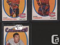 71/72 O-Pee-Chee Montreal Canadiens Lot of 4: #15