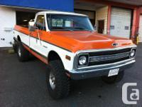 Make. Chevrolet. Version. C/K 2500. Year. 1972.