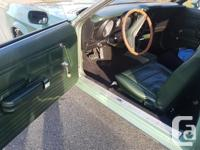 Make Ford Model Mustang Year 1972 Colour Green kms