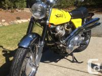 Very nice 72 norton commando 750 for sale. This bike is