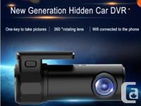 720P Hidden Wifi Dash Camera Camcorder Monitor -150