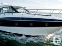Come and view this Low Hour 2015 Cruisers Yachts 41
