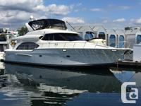This beautiful one owner Meridian Pilothouse was