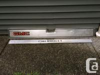 73 - 87 Chev Or GMC tailgate With aluminum Chevrolet or