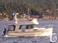 This 31� Camano has done approximately 2200 hours of