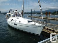 The Beneteau 321 is a terrific family cruiser and