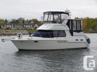 A Super Clean Aft Cabin Motor Yacht with Very Low Hours