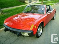 1974 Porsche 914  Excellent condition  Texas car! And