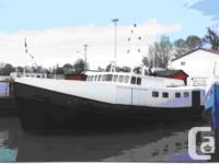 ~~71� x 18.5 x 6� Steel Commercial Fishing Vessel�