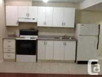 one bedroom basement apartment is vacant for rent from