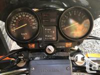Make Honda Model Cb Year 1981 kms 52000 1981 Honda
