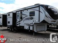 Description: The 2016 Avalanche 390RB, by Keystone, has