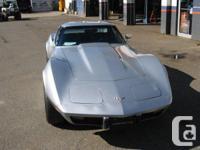 Make Chevrolet Model Corvette Year 1977 Colour Silver, used for sale  British Columbia