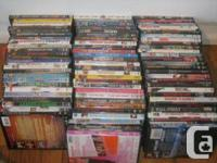 77 dvd movies too much to list I have the list saved to