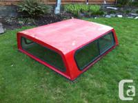 Red Canopy 77 Inches Off of a Nissan Pickup Needs