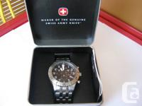 Quite excellent condition Wenger chronograph watch.