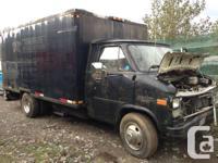 Parts van,Turbo 400 tranny , fresh 350 motor.    please