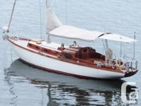 Based on a Scandinavian square meter type sloop, GRACE
