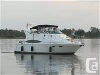 1999 Carver 350 Mariner, Twin 454XLI-MP Crusader, Gas,
