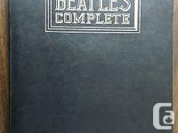 "This item is a ""BEATLES COMPLETE - 479 page soft cover"