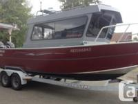 2012 ALUMAWELD pilothouse with only 110hrs on