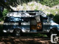 79 Dodge Camper Van $2900 OBO.  Pros:.