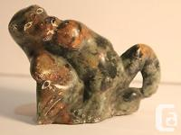 Vintage Potogok Pov carving of a bear with what looks