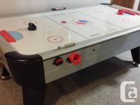 This Air-powered hockey table is fun, fast and will