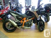 2014 NEW - LIGHT WEIGHT, LOW SEAT LIQUID COOLED, FUEL
