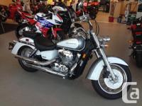 V-twin engine and perfectly placed chrome accentsWe