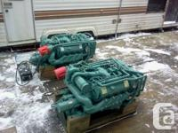 I have a set of 8.2 Turbo GM Detroit Diesels; they are