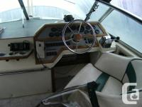 1982 Sea Ray Sundancer 270 , boats come with twin 470