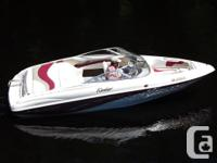 2000 Rinker 19' sport bowrider powered by a Mercruiser