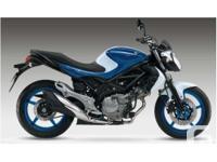 2014 Suzuki Gladius 650Flexibility is only available