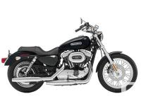 2009 Harley Davidson SportsterWhile the low suspension