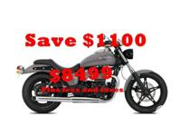 2015 Triumph SpeedmasterLong, low, blacked out and