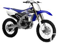 Brand new 2016 YZ250F.The fuel-injected 2016 YZ250F