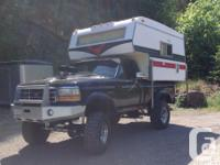 1986 Vanguard Camper (8.5 ft) In very good condition
