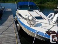 This turnkey ready boat (with all teak interior) is in