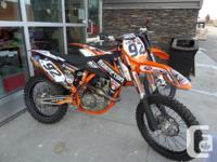 Lots of Extrtas IncludedWith the 450 SX-F, KTM has a