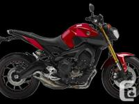 SAVE $400.00!!! 2014 YAMAHA FZ09Introducing the all-new