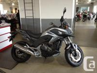 NC750X .You may not be a movie star or a grizzled