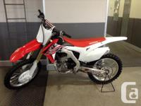 New CRF250R .Choose your best chance to win D30702